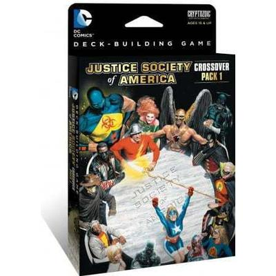 Cryptozoic DC Comics Deck-Building Game: Crossover Pack 1: Justice Society of America (Engelska)