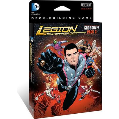 Cryptozoic DC Comics Deck-Building Game: Crossover Pack 3: Legion of Superheroes