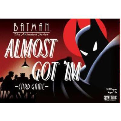 Cryptozoic Batman: The Animated Series: Almost Got 'Im Card Game (Engelska)