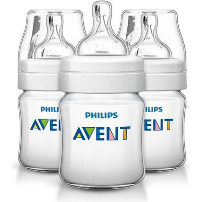 Philips Avent Classic+ Baby Bottle 125ml 3-pack