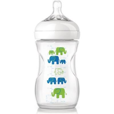 Philips Avent Natural Elefant Nappflaska 260ml