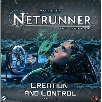 Fantasy Flight Games Android: Netrunner Creation & Control (Engelska)