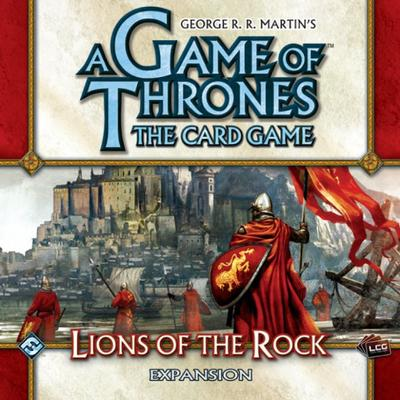 Fantasy Flight Games A Game of Throne: Lions of the Rock (Engelska)