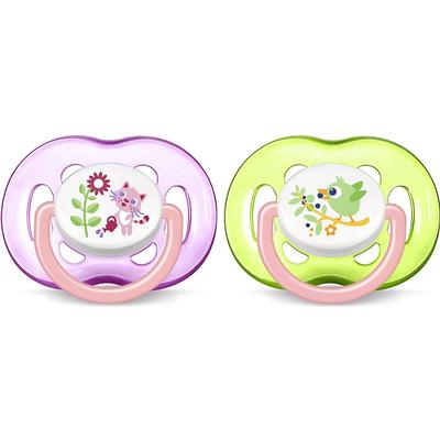 Philips Avent Freeflow Soothers 18m+ 2-pack