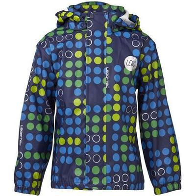 Lego Wear Rain Jacket - Multi Dark Blue (14237-588)