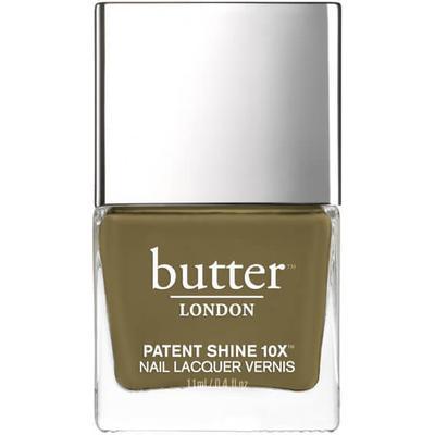 Butter London Patent Shine 10X Nail Lacquer British Khaki 11ml