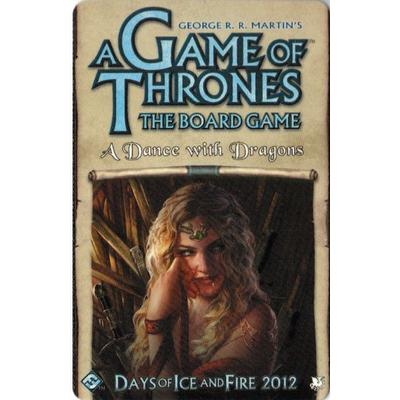 Fantasy Flight Games A Game of Thrones: A Dance with Dragons (Engelska)