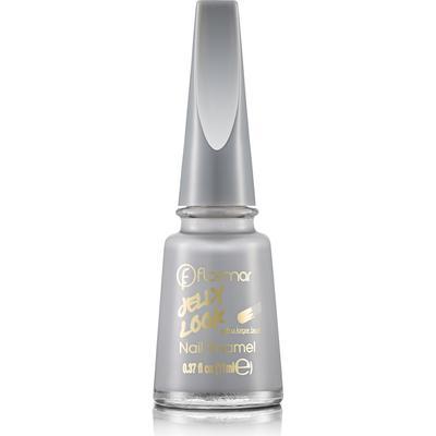 Flormar Jelly Look Nail Enamel JL24 Light Grey 11ml