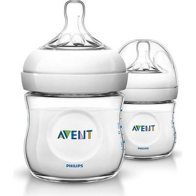 Philips Avent Natural Baby Bottle 125ml 2-pack