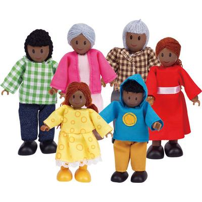 HapeToys Happy Family African American