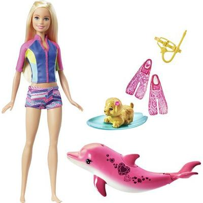 Mattel Barbie Dolphin Magic Snorkel Fun Friends