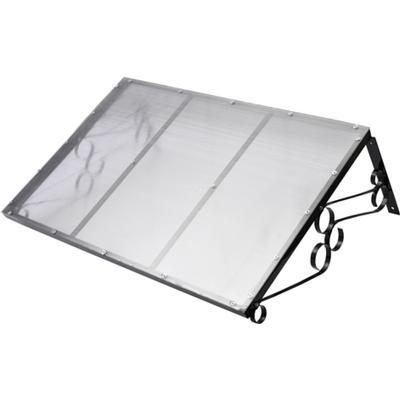 vidaXL Door Canopy 120x80cm
