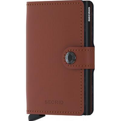 Secrid Mini Wallet - Matte Brick Black