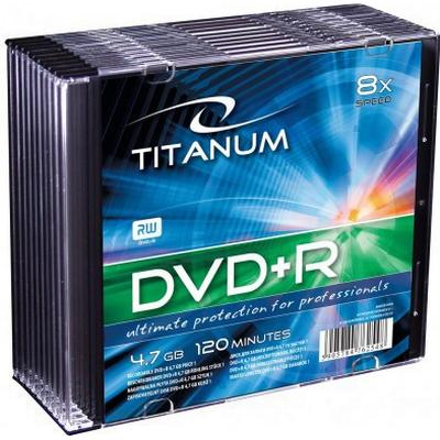 Esperanza DVD+R 4.7GB 8x Slimcase 10-Pack