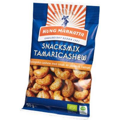 Kung Markatta Snacksmix Tamari Cashew EKO 50g