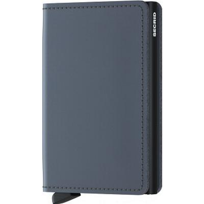 Secrid Slim Wallet - Matte Grey Black