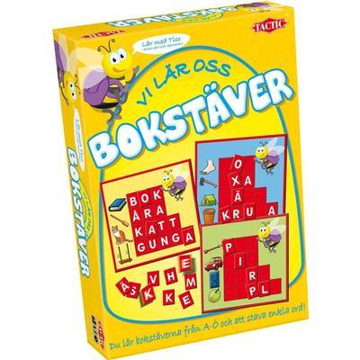Tactic Vi Lär Oss Bokstäver (Svenska)