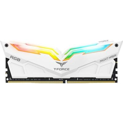 Team T-Force Night Hawk RGB White DDR4 3000MHz 2x8GB (TF2D416G3000HC16CDC01)