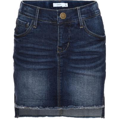 Name It Nitabett Slim Denim Skirt - Blue/Dark Blue Denim (13140608)