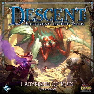 Fantasy Flight Games Descent: Journeys In the Dark Second Edition: Labyrinth of Ruin