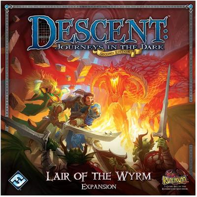 Fantasy Flight Games Descent: Journeys In The Dark Lair of The Wyrm (Engelska)
