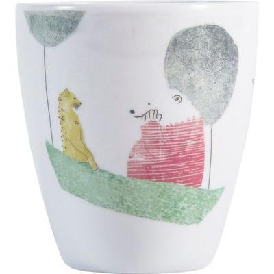 Sebra In the Sky Polarbear Melamine Cup