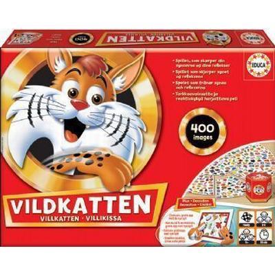 Educa Vildkatten 400 (Danska)