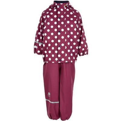 CeLaVi PU Rainwear Set - Dry Red (310106)