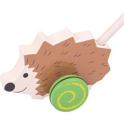 Bigjigs Hedgehog Push Along