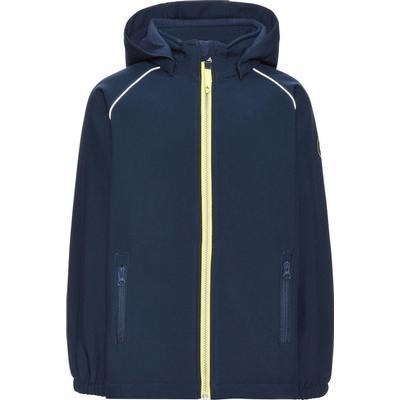 Name It Alfa Plain Softshell Jacket - Blue/Dress Blues (13138223)