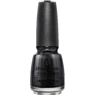 China Glaze Nail Lacquer Black Diamond 14ml