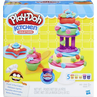 Play-Doh Kitchen Creations Frost N Fun Cakes