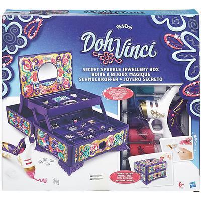 Play-Doh Dohvinci Secret Sparkle Jewelry Box Kit
