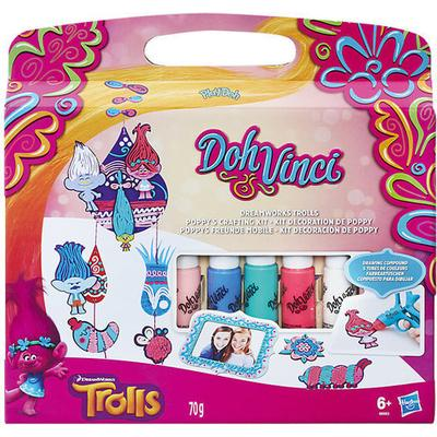 Play-Doh Dohvinci Dreamworks Trolls Poppy's Crafting Kit