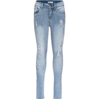 Name It Nittola Skinny Fit Jeans - Blue/Light Blue Denim (13136091)