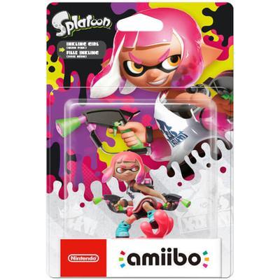 Nintendo Amiibo Splatoon - Inkling Girl Neon Pink