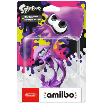 Nintendo Amiibo Splatoon - Inkling Squid Neon Purple