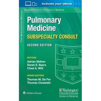 Washington manual pulmonary medicine subspecialty consult (Pocket, 2016)