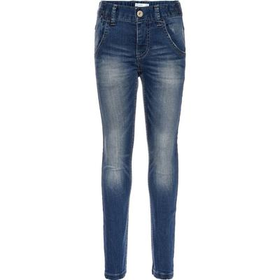 Name It Nittasmania Slim Organic Jeans - Blue/Dark Blue Denim (13142289)