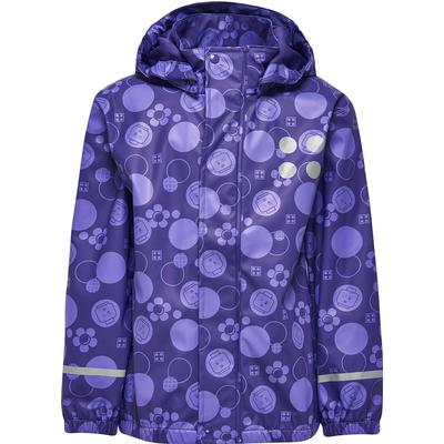 Lego Wear Rain Jacket - Multi/Dark Purple