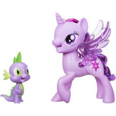 Hasbro My Little Pony Princess Twilight Sparkle Spike the Dragon Friendship Duet C0718