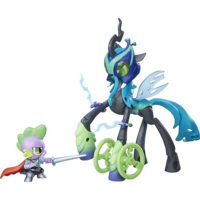 Hasbro My Little Pony Guardians of Harmony Queen Chrysalis V Spike the Dragon B7298