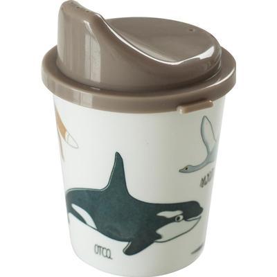Sebra Melamine Sippy Cup Arctic Animals
