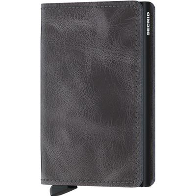 Secrid Slim Wallet - Vintage Gray Black