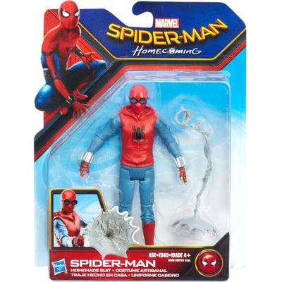 "Hasbro Spider-Man Homecoming Spider-Man Homemade Suit 6"" Figure B9991"