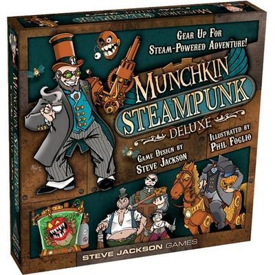 Steve Jackson Games Munchkin Steampunk Deluxe