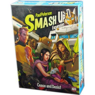 AEG Smash Up: Cease & Desist (Engelska)