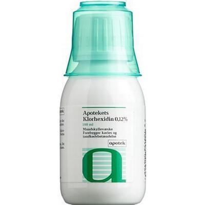 Apotekets Klorhexidin 0.12% Mundskyllevæske 100ml