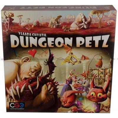 Czech Games Edition Dungeon Petz (Engelska)
