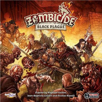 Cool Mini Or Not Zombicide: Black Plague (Engelska)